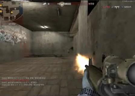 [视频]韩服新步枪Diemaco C7A2