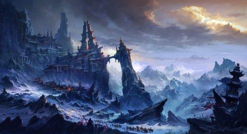 QQ华夏雪域美景