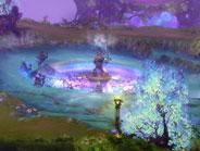 野外场景精美原画 紫色环境