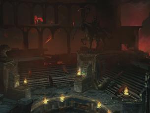 逆战高清壁纸之地下宫殿