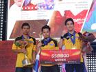 亚洲邀请赛冠军诞生 泰国队颁奖现场