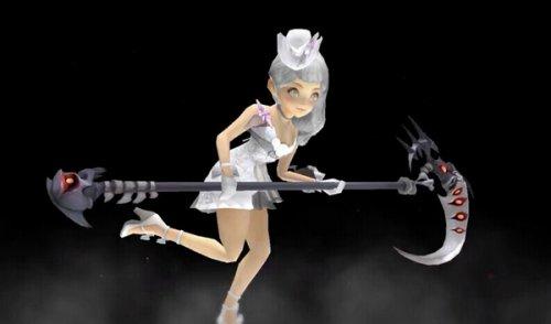 龙之谷台服万圣节时装展示 酷似婚纱翻版