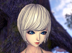剑灵人族女捏脸数据 蓝眸美人让你心动