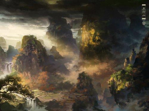 《代号:零》五行山场景壁纸