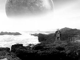 vr第一视角超酷科幻短片 逃离宇宙飞船