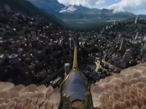 《魔兽世界》飞跃暴风城 探索艾泽拉斯的天空