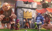部落成员们在《皇室战争》的首秀!